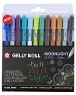 Set pixuri colorate Gelly Moonlight Set 12 Cosmos