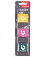 Set 3 gume plastice colorate