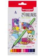 Set Bruynzeel Fineliner 24