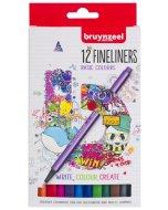Set Bruynzeel Fineliner 12