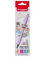 Set Bruynzeel Fineliner Pastel 6