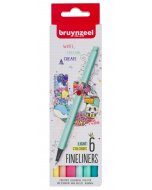 Set Bruynzeel Fineliner light 6