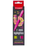 Set evidentiatoare Highlighter Yellow/Pink