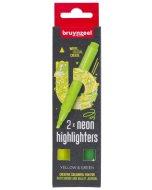 Set evidentiatoare Highlighter Yellow/Green