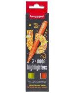 Set evidentiatoare Highlighter Yellow/Orange