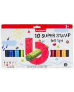 Set stampile colorate Super Stamp