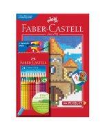 Set creioane si carte de colorat Pixel-IT
