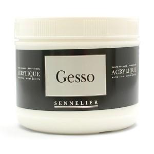 Grund gesso extrafin Sennelier - 500 ml.