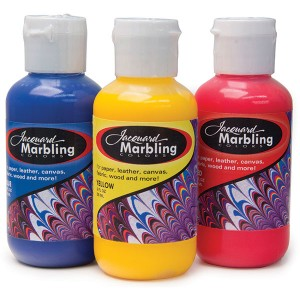 Culori ebru Jacquard Marbling