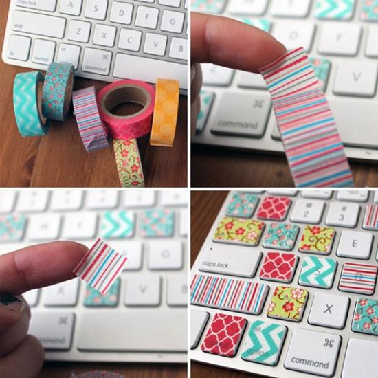 Hartie de orez adeziva Washi Tape