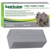 Pasta polimerica Super Sculpey Firm Gray