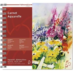 Bloc Carnet Aquarelle - 19x20 cm.