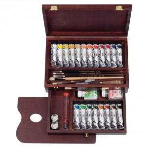 Set culori acrilice Rembrandt Acrylic Box Master