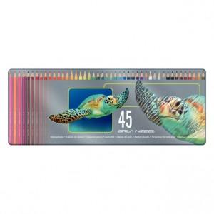 Set creioane colorate Bruynzeel Turtle 45