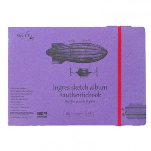 Caiet de desen #authenticbook Ingres