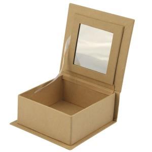 Cutie din papier mache cu oglinda