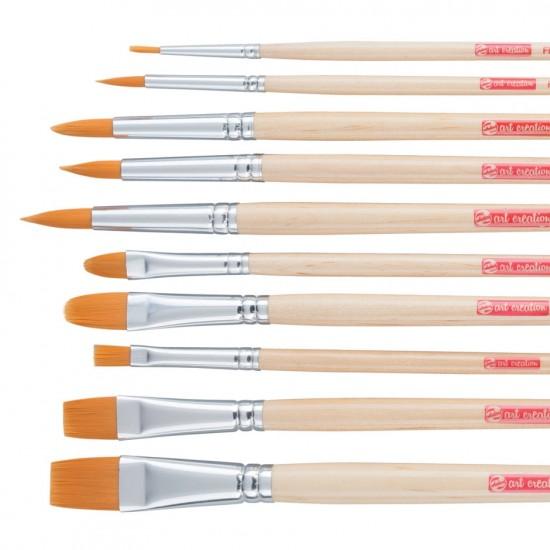 Set pensule sintetice Art Creation 232