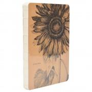 Carnet schite Sunflower 15/21cm 98file