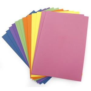 Hartie catifea colorata A4