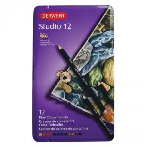 Set 12 creioane Studio Derwent
