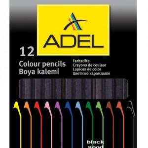 Set creioane colorate Black Line