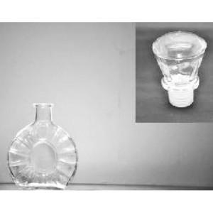 Plosca cu dop din sticla 250 ml