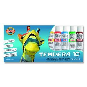 Set 10 culori tempera Koh I Noor