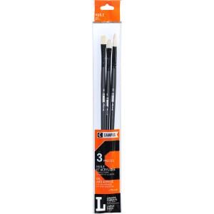 Set 3 pensule Raphael Oil L