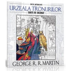 Carte de colorat - Urzeala Tronurilor