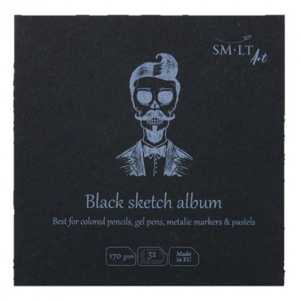 Bloc desen Black Sketch Album 14 x 14 cm