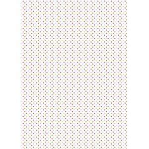 Coala adeziva textila Buline Colorate