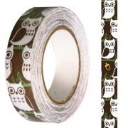 Banda adeziva textila Bufnite