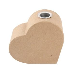 Forme papier mache - vaza inima