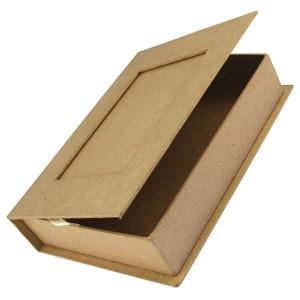 Caseta din papier mache cu rama foto