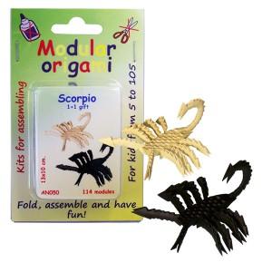 """Set origami """"Scorpioni"""""""
