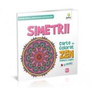 Carte de colorat - Simetrii ZEN