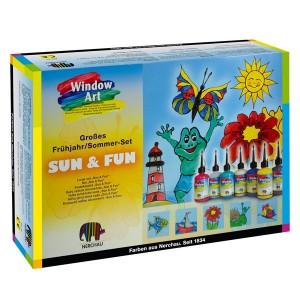 set Window Art Sun & Fun