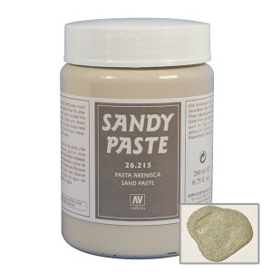 Pasta acrilica Vallejo Sandy Paste