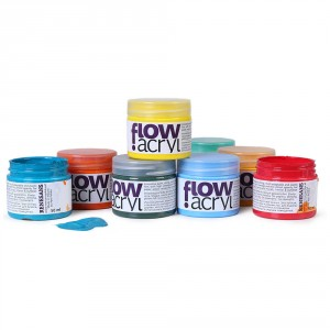 Culori acrilice Renesans Flow 50 ml.