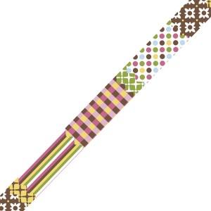 Banda adeziva textila Pattern Mix