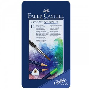 Set 12 creioane colorate Faber Castell Art Grip