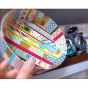 Hartie de orez adeziva Washi Tape 30 mm
