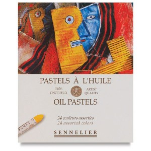 Seturi pastel gras Sennelier Oil Pastels - Universal 24