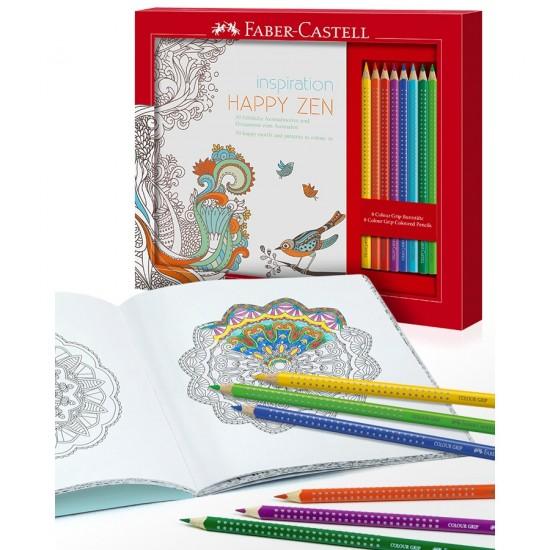 Set desen Faber-Castell Happy Zen
