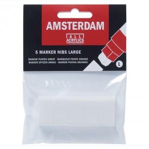 Set varfuri markere acrilice Amsterdam L