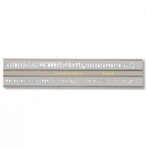Sablon litere/cifre, tip 903 ISO, 2,5 mm