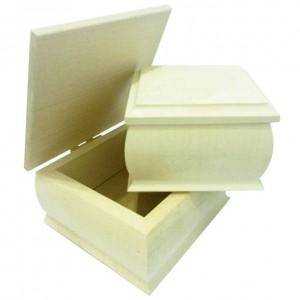 Cutie din lemn cu capac