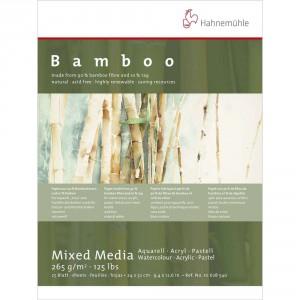 Bloc desen Bamboo Mixed Media