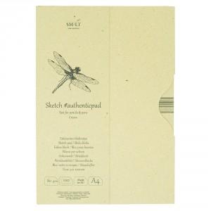 Bloc desen Sketch pad Authentic Cream 100x80gr A4