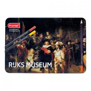 Set 50 creioane colorate Rijks Museum